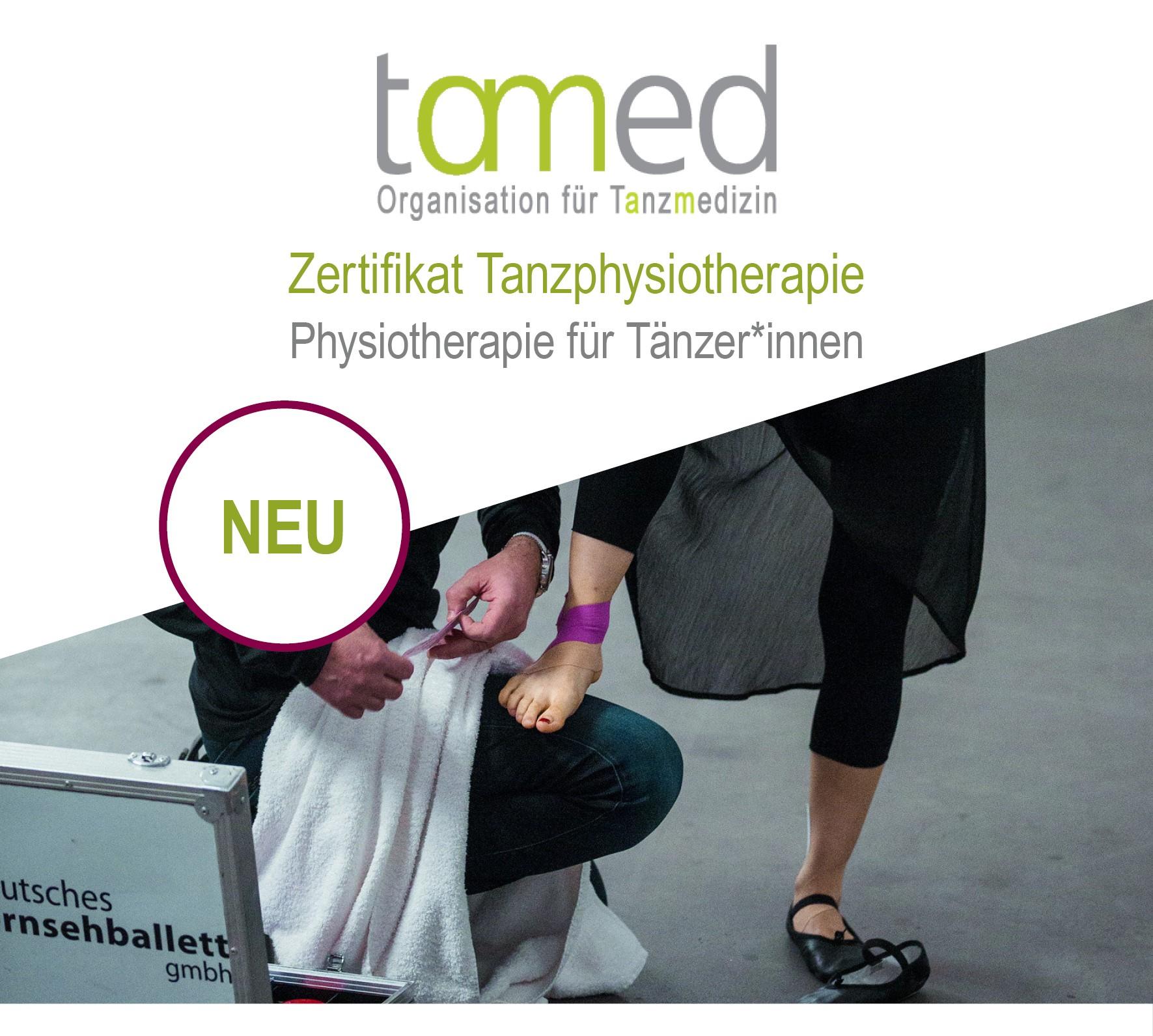 Zertifikat Tanzphysiotherapie ab Januar 2020