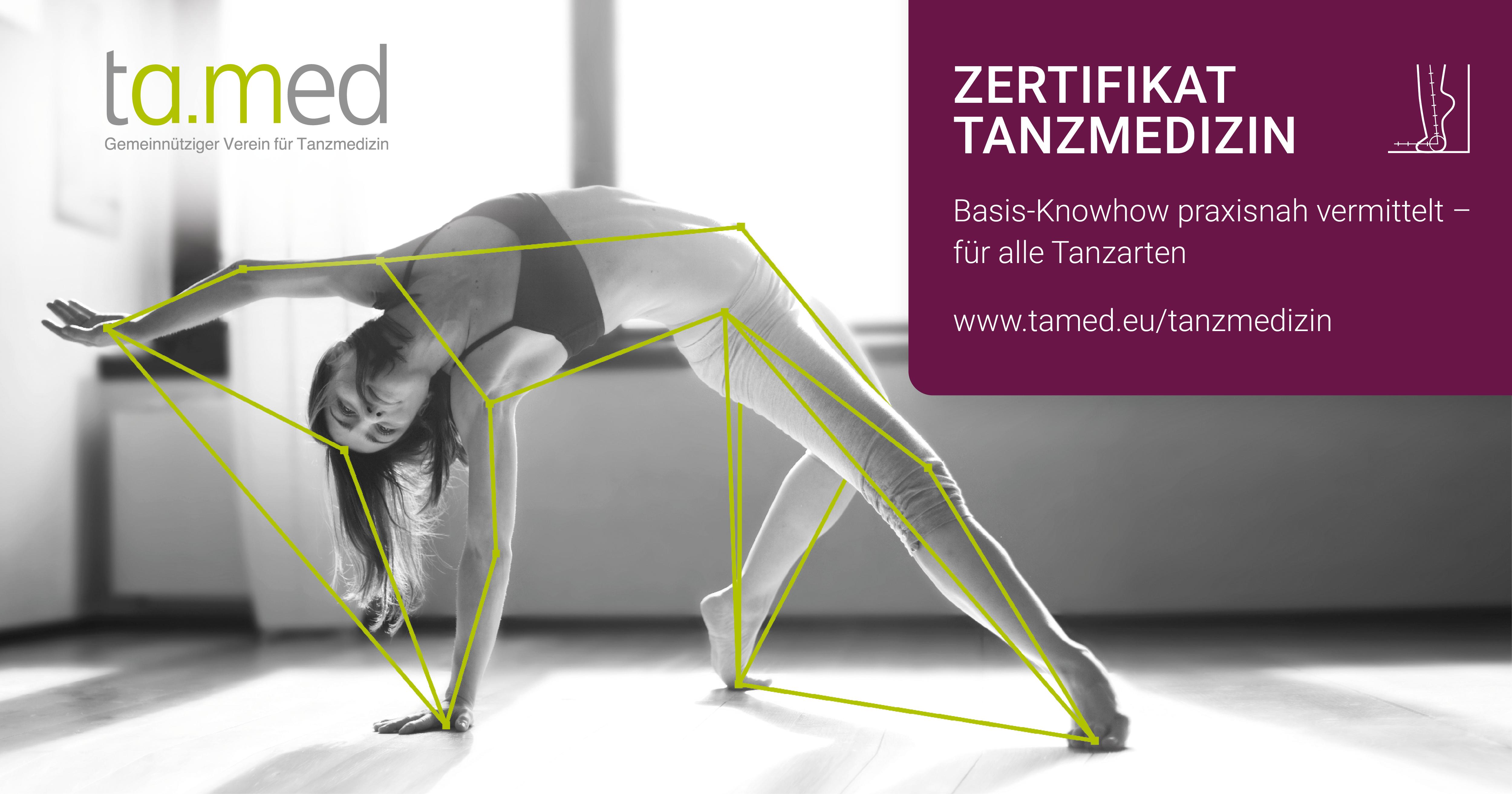 Zertifikat Tanzmedizin
